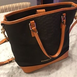 Dooney & Bourke two toned purse.